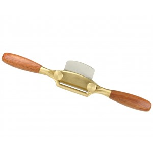 ALEX® Spokeshave brass, wood handle