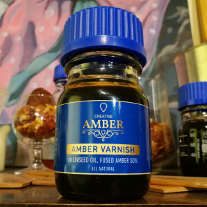 Creative Amber oil varnish 100ml