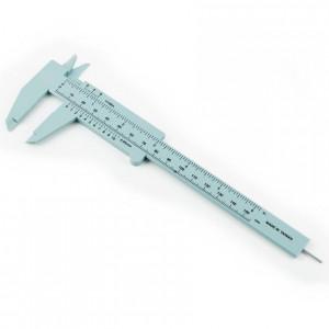 Plastic Imperial/Metric Vernier Caliper
