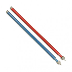Colored exchangeable rods