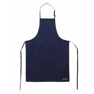 Cremona Tools cotton apron, blue