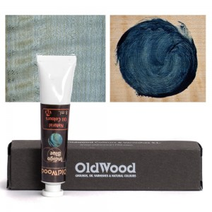 Old Wood 1700 - Oil Nat. Col.s: Indigo - Blue 8 ml