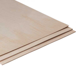 Thin birch plywood