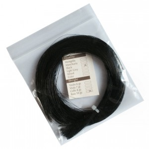 Bow hair hanks MONGOLIA black for doublebass 10g.