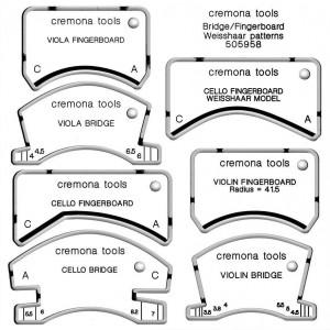 Bridge/Fingerboard Weisshaar patterns