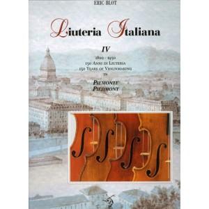 "Liuteria Italiana Vol. IV ""Piemonte"" (Italian text)"