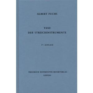 Taxe der Streichinstrumente 17 - Albert Fuchs