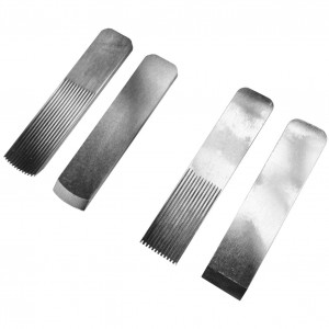 Replacement blades, plain and toothed for CAG Tools finger planes