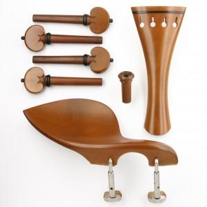 set standard mod. Cuore violino bosso/ebano