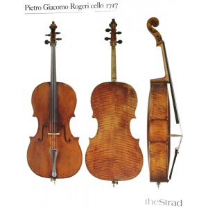 Poster Rogeri Pietro Giacomo cello, 1717
