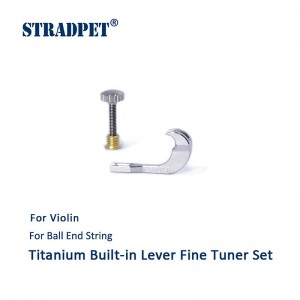 Built-in Titanium Lever Fine Tuner Set for Violin