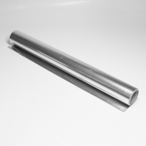 Tin foil, rotolo 1 kg largh. 450mm, lungh. 25m, spess. 0,012mm (+/-10%)